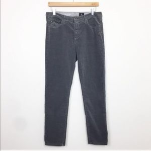 Adriano Goldschmied Gray Stevie Ankle Corduroy 30